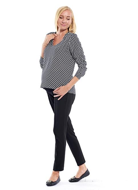 Motherway Maternity Gömlek Siyah